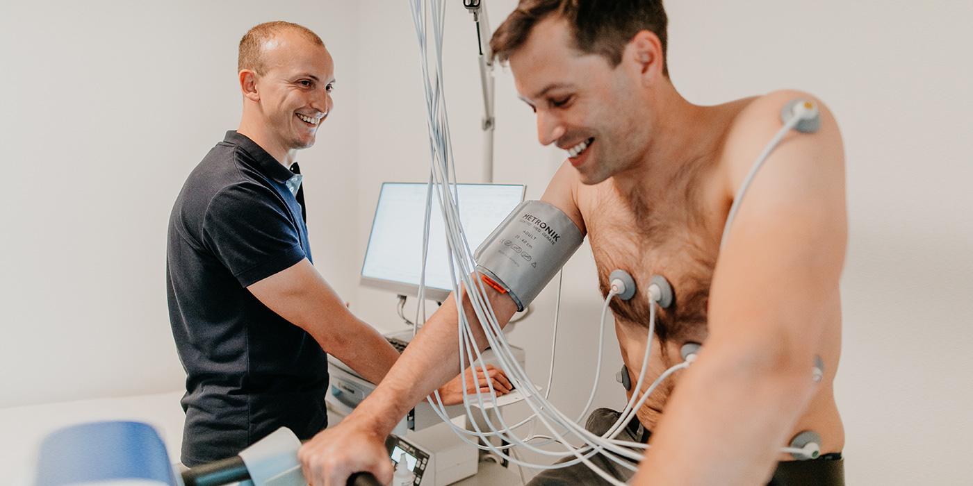 Belastungs-EKG (Fahrrad-Ergometrie)